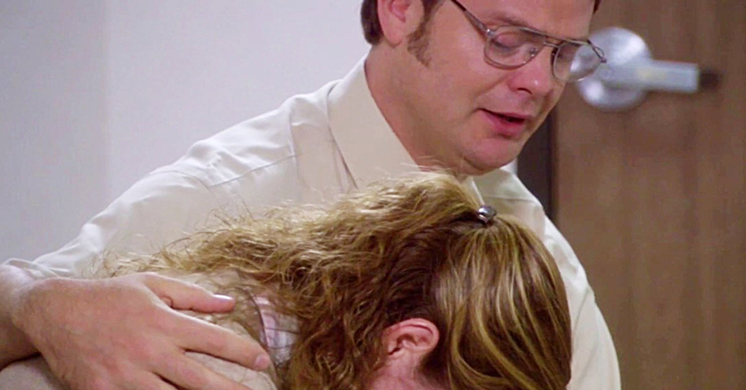 The Office's Jenna Fischer Opens Up About Filming Emotional Scene of Dwight Comforting Pam