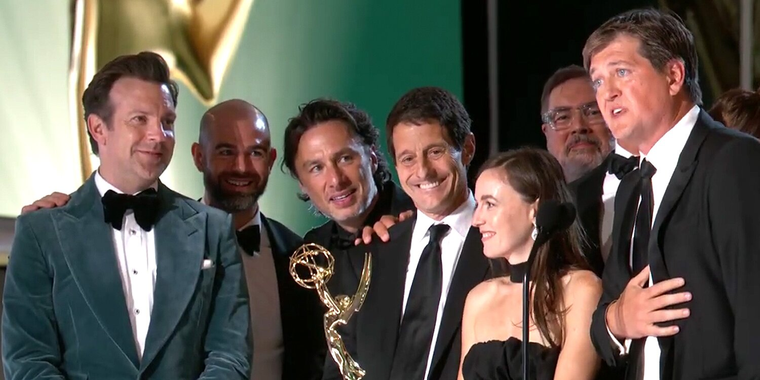 Ted Lasso and 'Our Fearless Leader Jason Sudeikis' Win Emmy for Outstanding Comedy Series.jpg