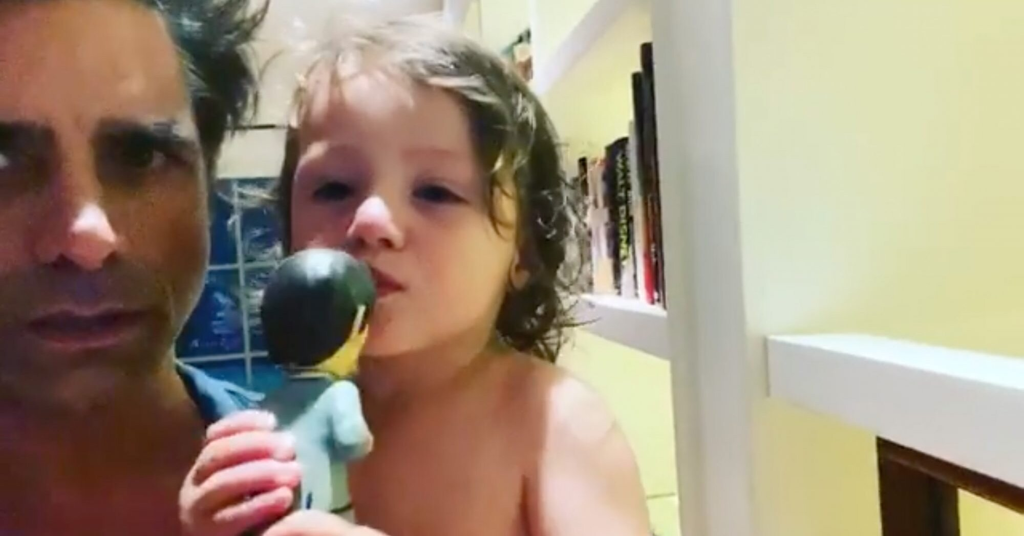 John Stamos' 2-Year-Old Son Gets Emotional Before Kissing The Beatles Goodnight: 'Ringo!'