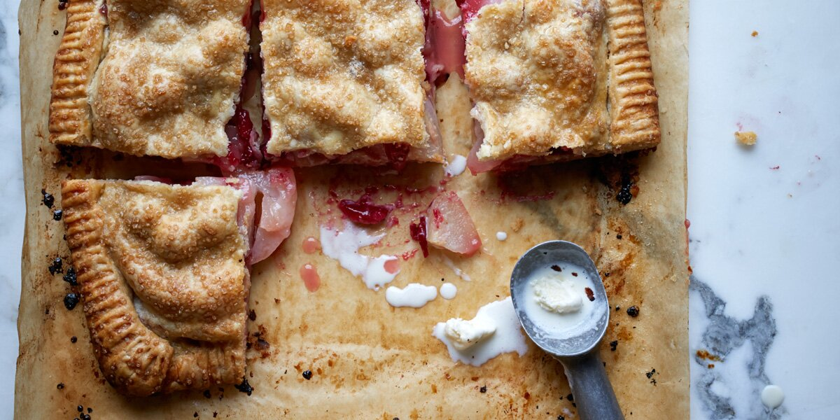 This Slab Pie Is Fall in the Palm of Your Hand