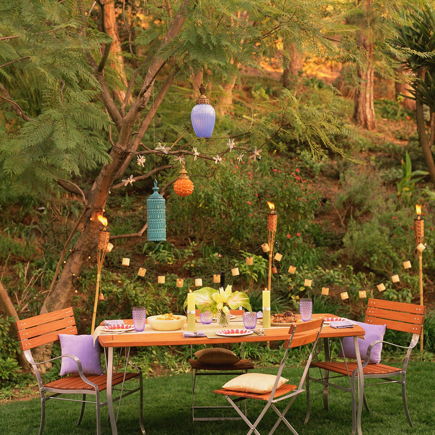 17 Outdoor Party Ideas For An Effortless Backyard Gathering Real