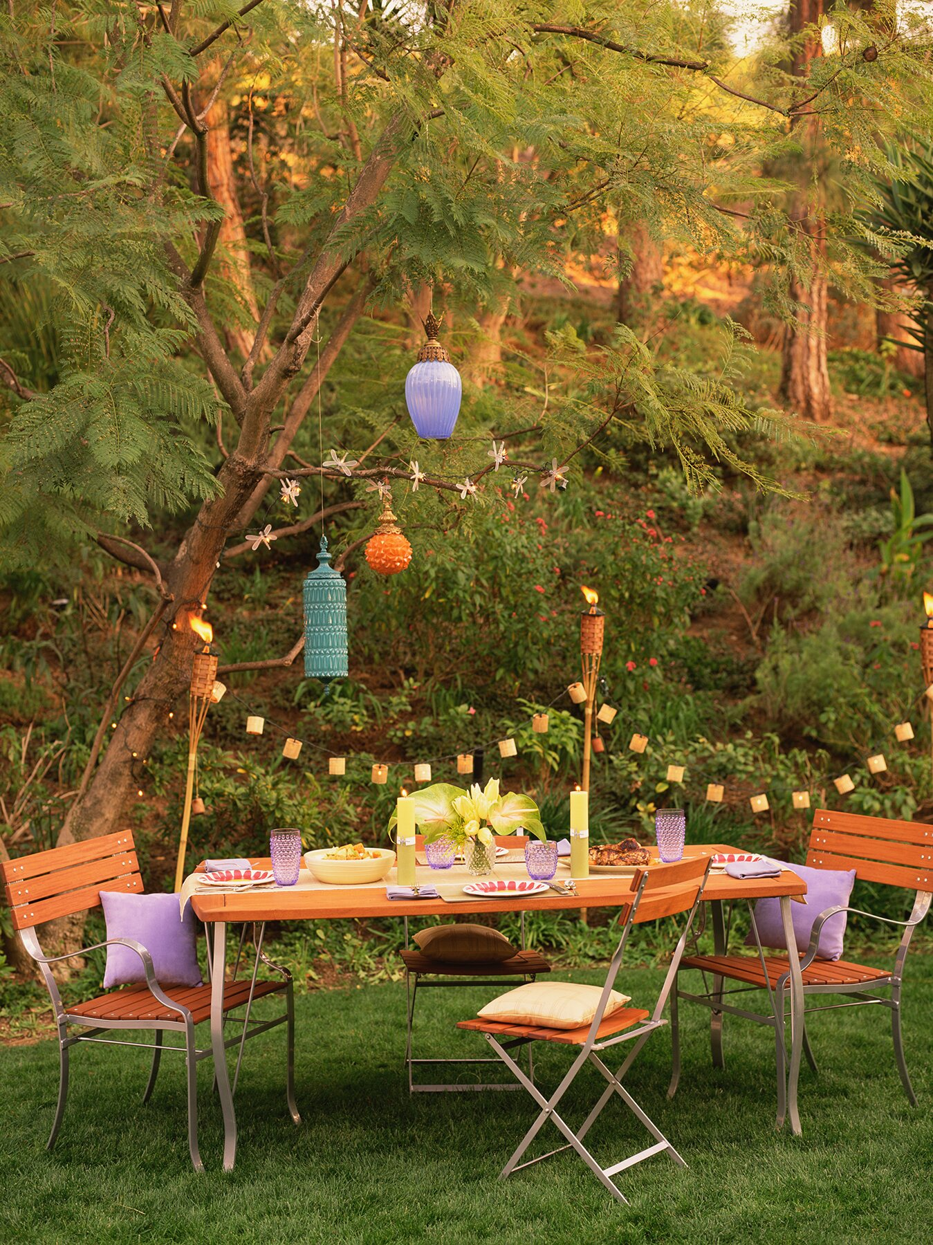 17 Outdoor Party Ideas For An Effortless Backyard Gathering Real Simple