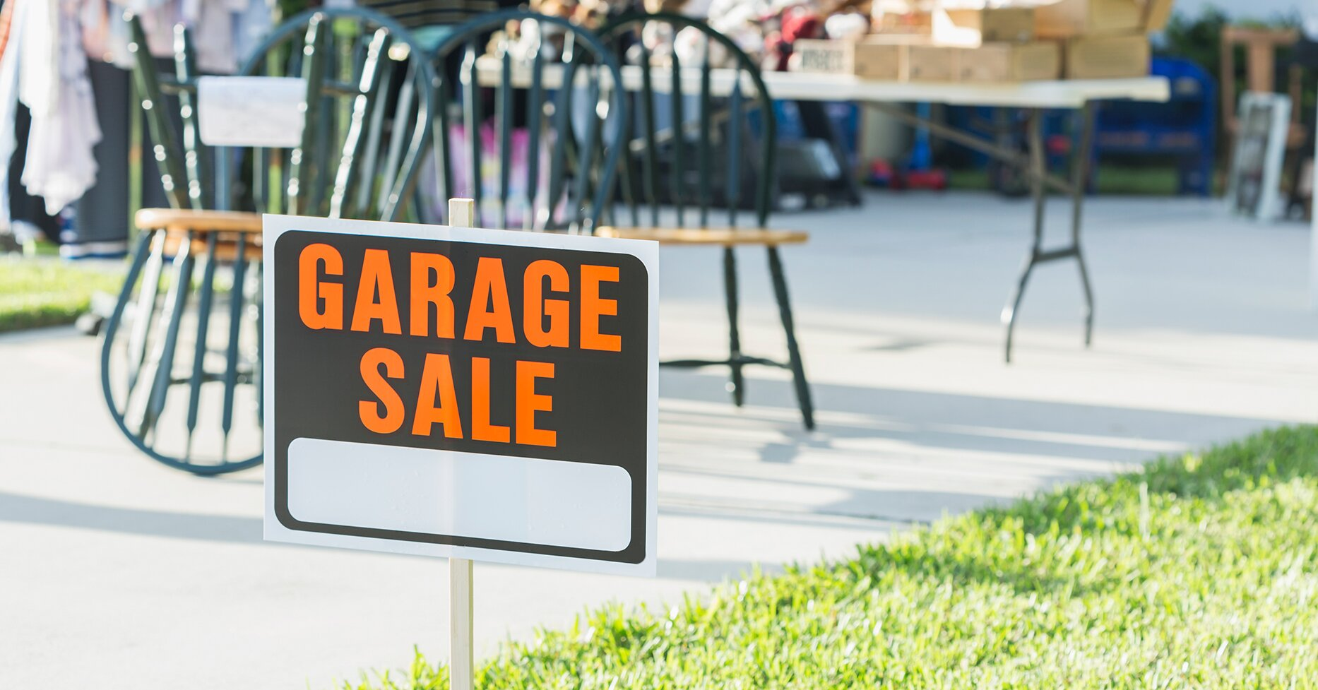 How to Host a Socially Distanced Garage Sale
