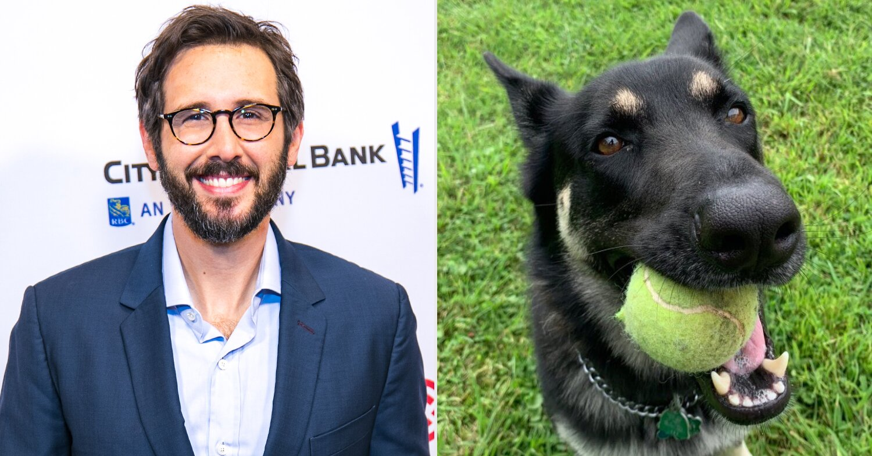 Josh Groban will perform at 'indoguration' for Joe Biden's dog Major