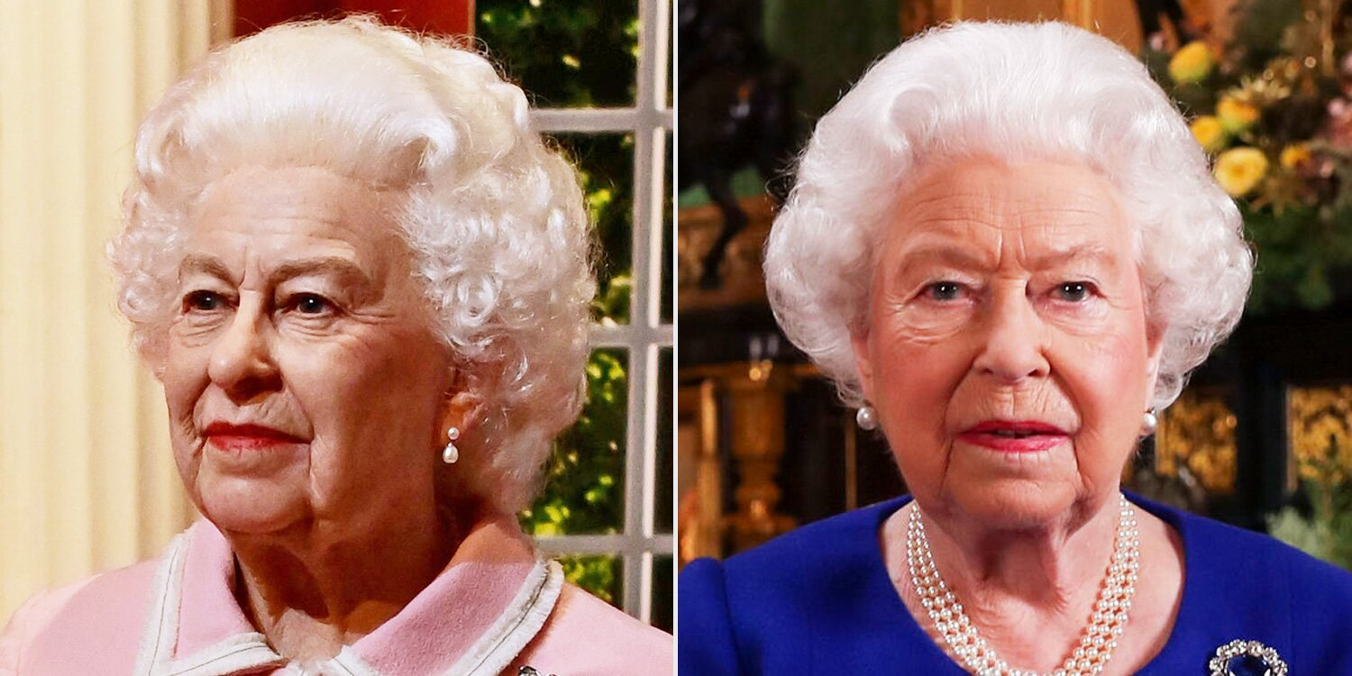 Queen Elizabeth Has a New Wax Figure — Can You Tell the Real Monarch from the Statue?