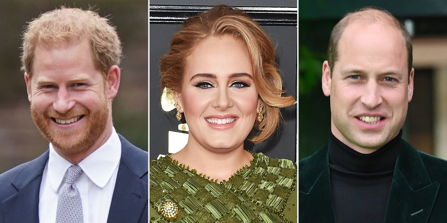 Adele Chooses Between Prince William and Prince Harry in a British-Themed Game of 'This or That'