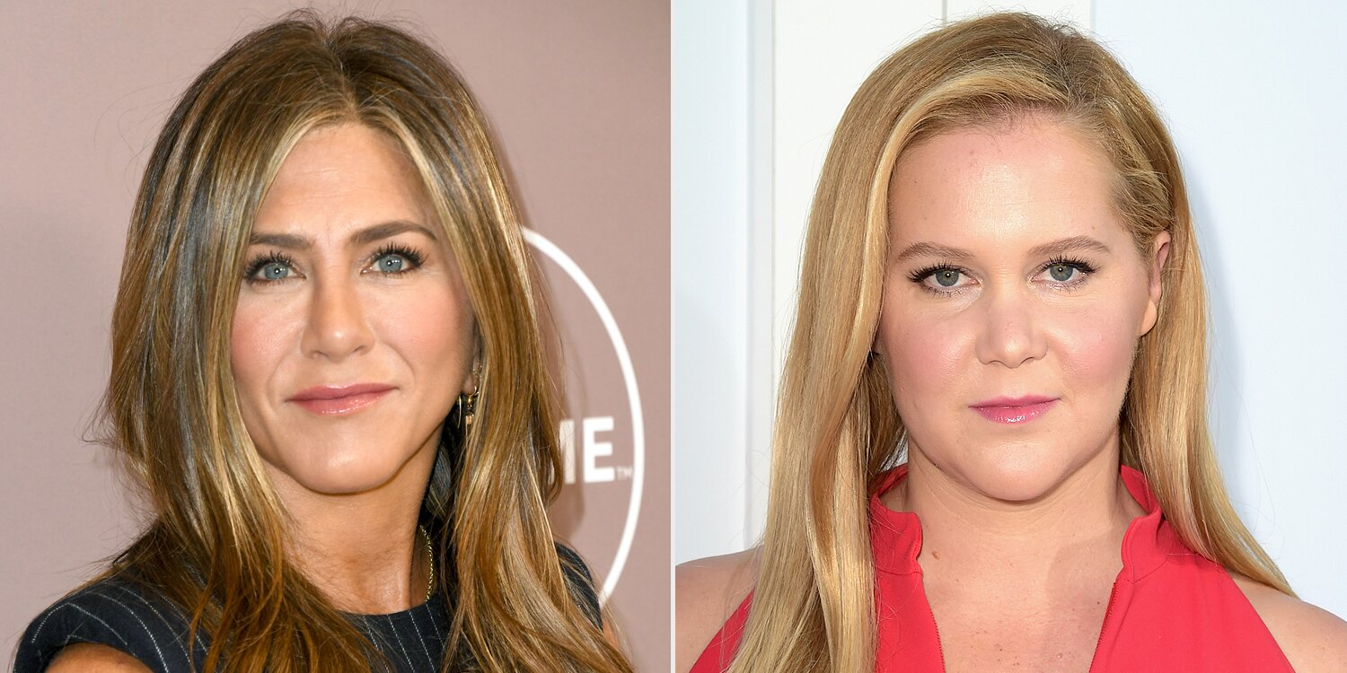 Jennifer Aniston Agrees with Amy Schumer Saying 'We're All Hanging on By a Thread': 'Yes'.jpg
