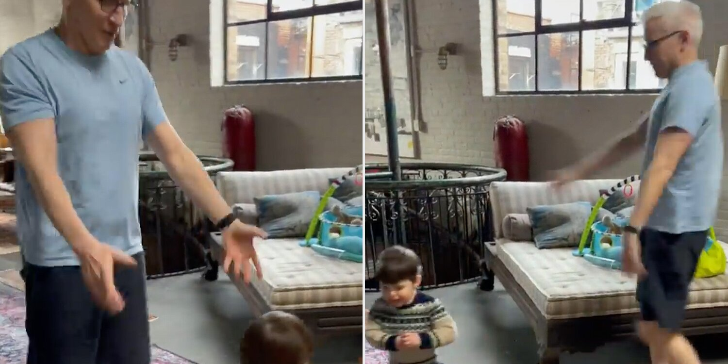 Dad Goals! Anderson Cooper and Andy Cohen's Cutest Moments Together with Their Kids.jpg