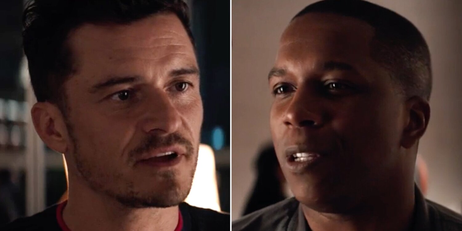 Orlando Bloom and Leslie Odom Jr. Go Head to Head in New Clip for Needle in a Timestack: WATCH.jpg