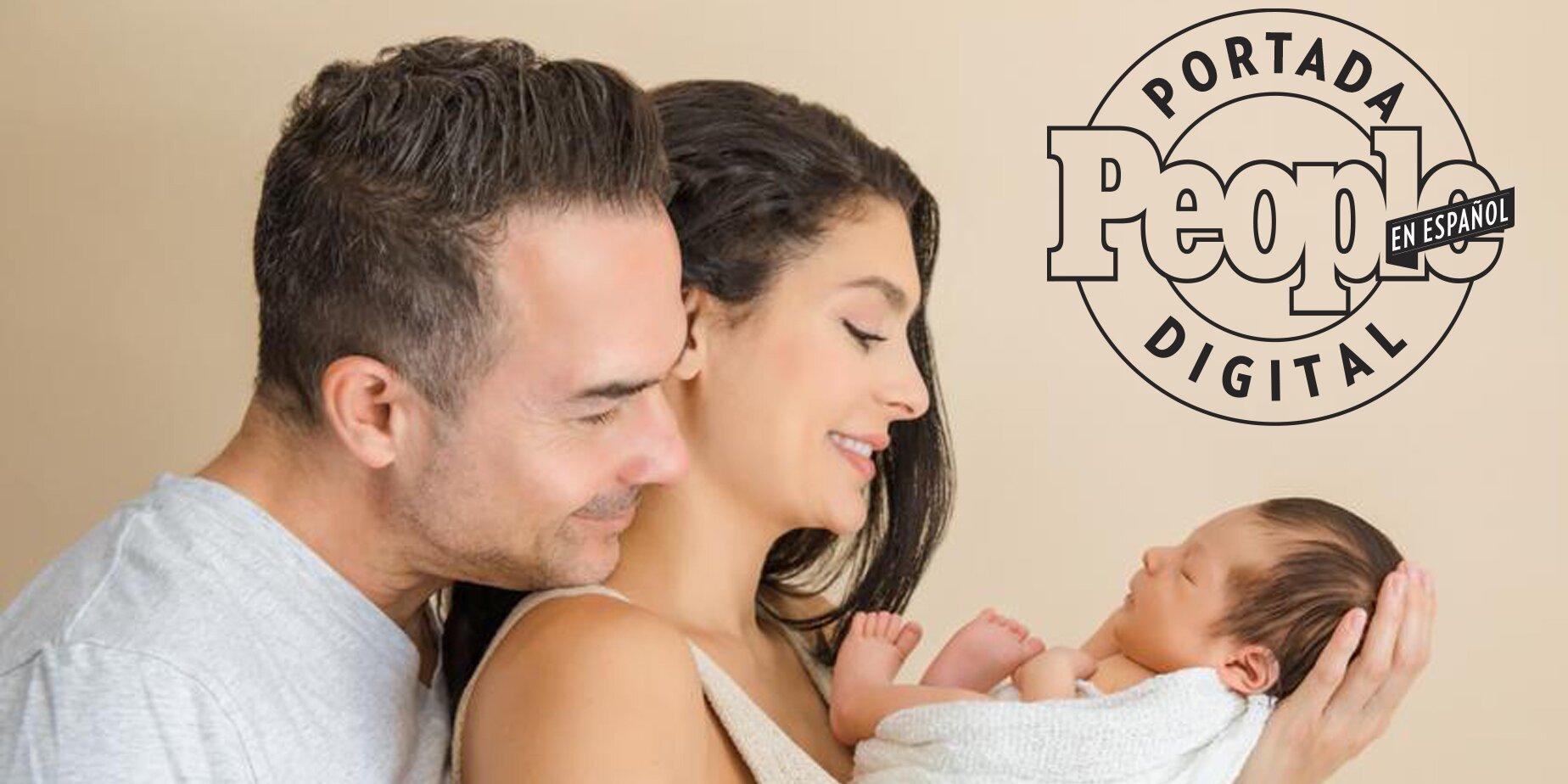 Fotos exclusivas del hijo de Carlos Calderón y Vanessa Lyon