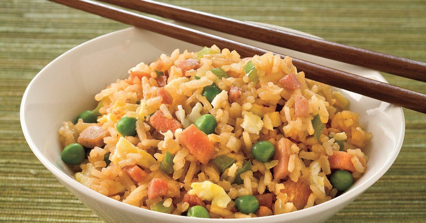 Combination Fried Rice Recipe Myrecipes