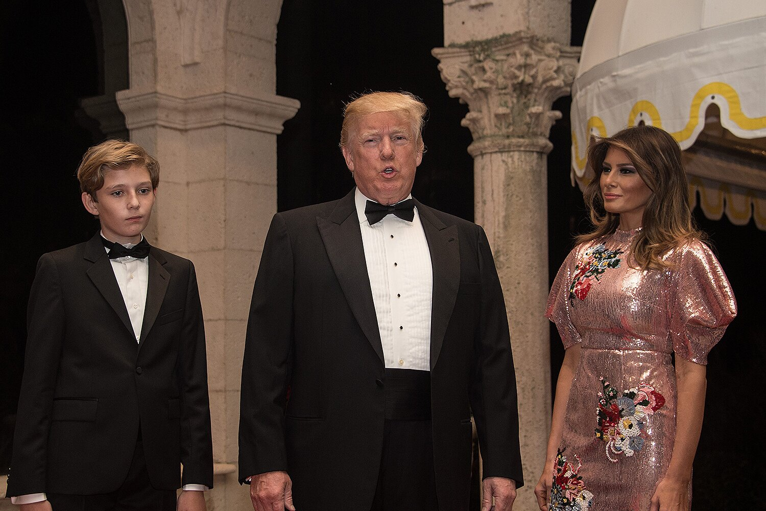 Mar A Lago Trump Apartments Being Renovated While Melania Looks At Schools For Barron People Com