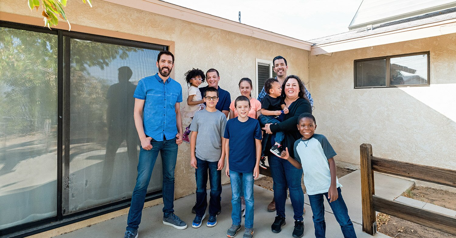 WATCH: Property Brothers Surprise Family with Adopted, Special Needs Kids with $250K Makeover