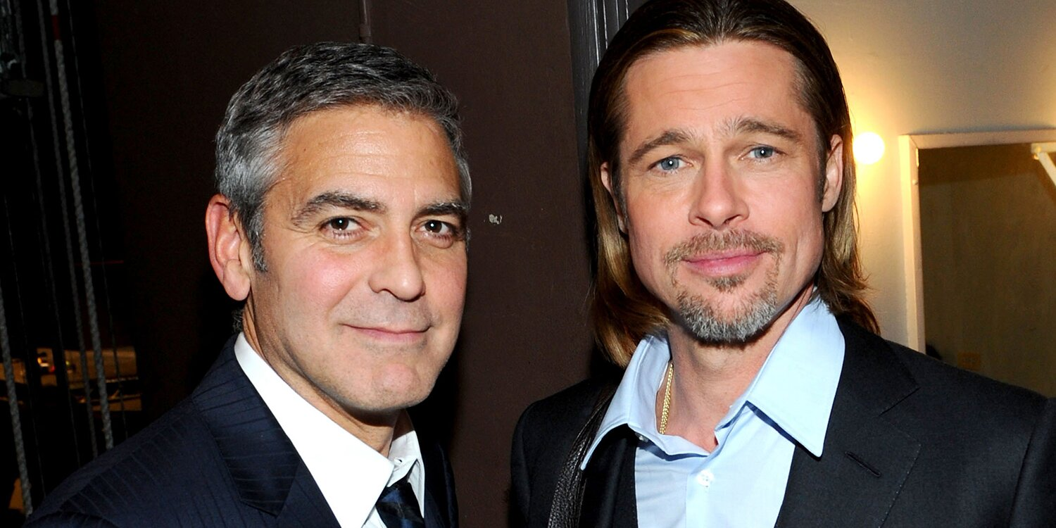 George Clooney Jokes Brad Pitt Was the 'Cheapest' Actor Available for Their Upcoming Thriller.jpg