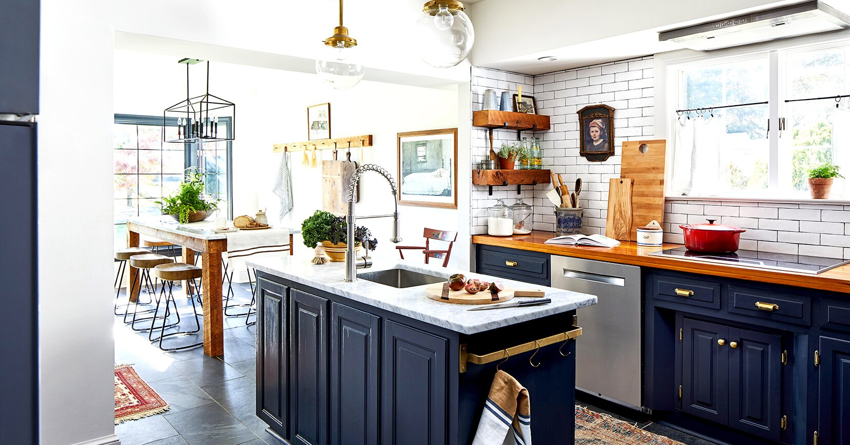 17 Blue Kitchen Ideas For A Refreshingly Colorful Cooking Space Better Homes Gardens