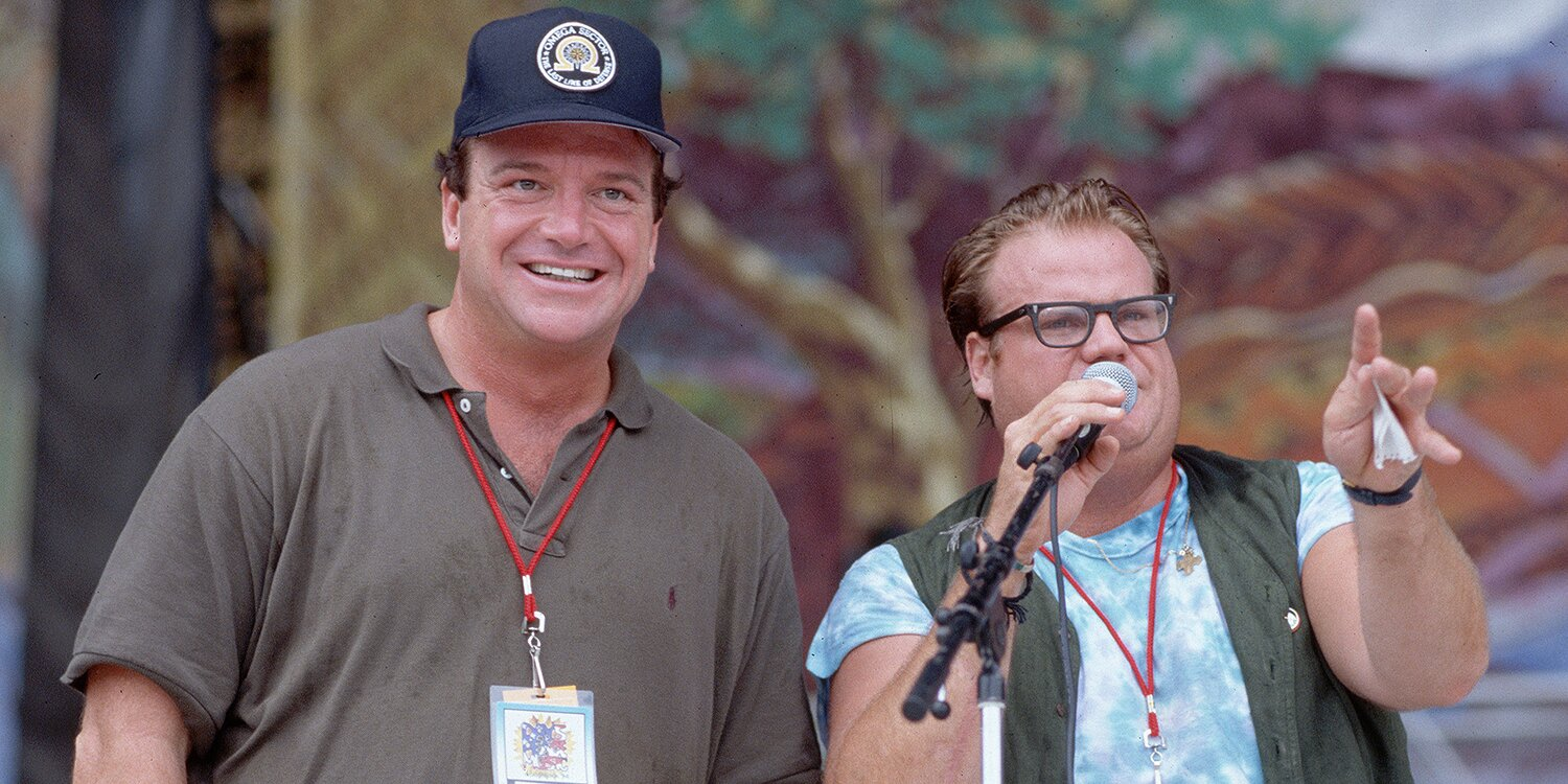 Tom Arnold Reveals He Was Once Chris Farley's Sober Sponsor: I Was 'Very Sad When He Died'.jpg