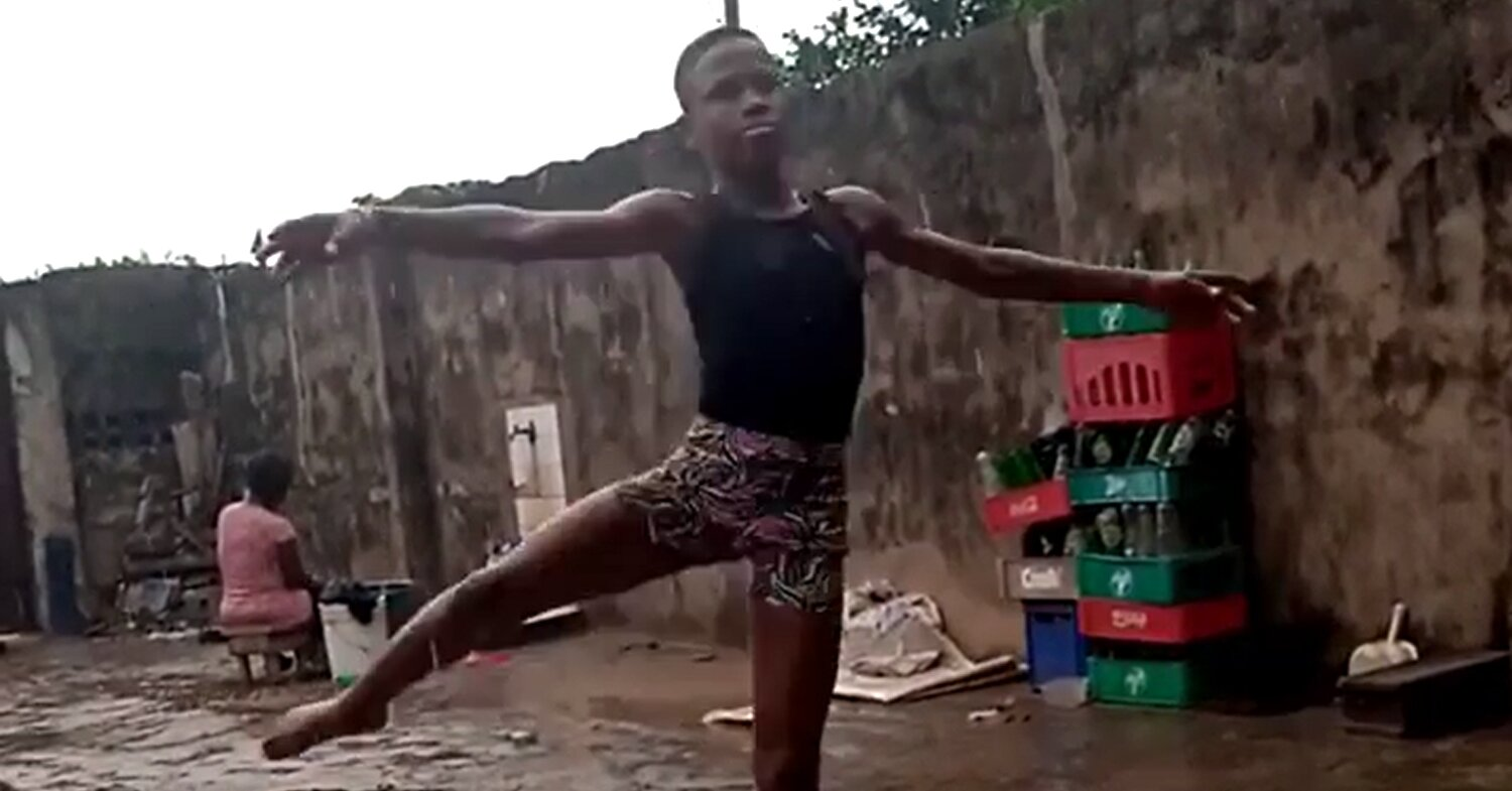 Nigerian Boy, 11, Earns Scholarship Offers After Video of Him Dancing in the Rain Goes Viral