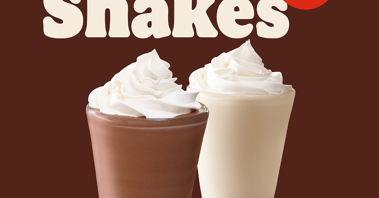 $1 Mini Milkshakes Are Now Available at Burger King for a Limited Time