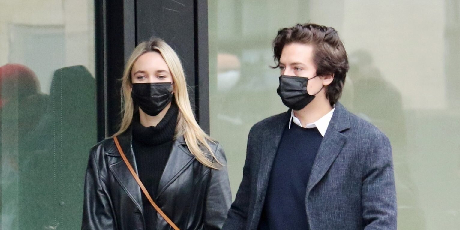 Riverdale's Cole Sprouse Spotted Holding Hands with Model Ari Fournier.jpg