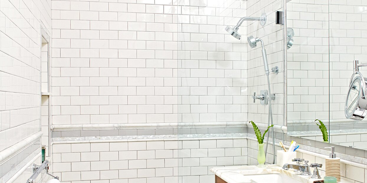 how to tile a shower enclosure or tub