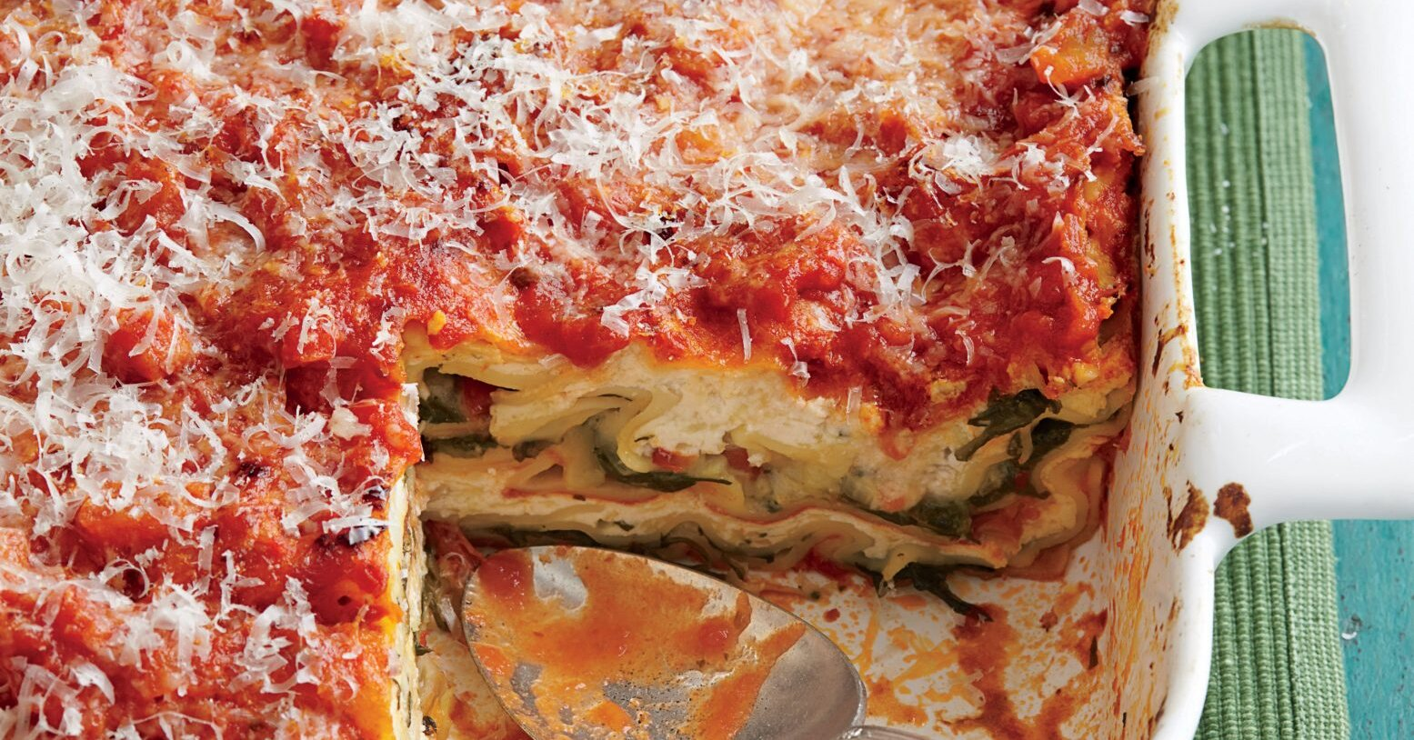 The Best Classic Lasagna Starts With a Layer of Sauce