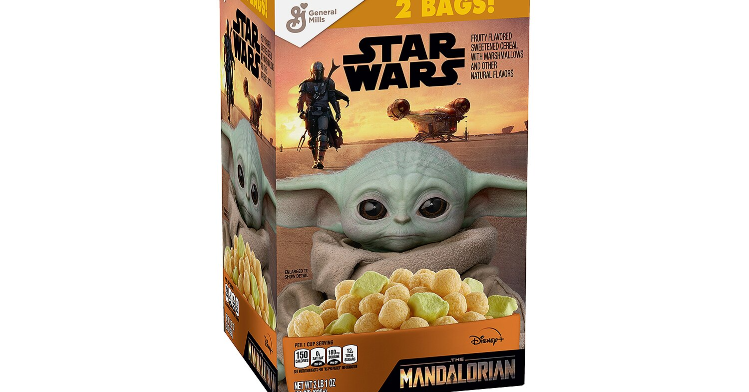Baby Yoda Marshmallow Cereal Will Be Available at Sam's Club