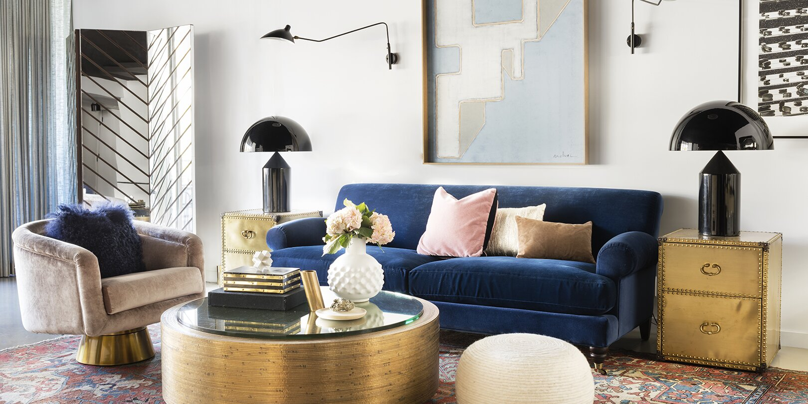 What Colors Go With Gold How To Create A Palette With The Warm Metallic Better Homes Gardens