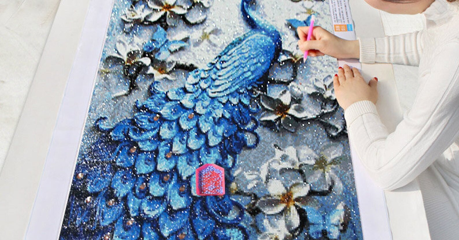 Why You Should Try Diamond Painting, a Beautiful Blend Between Beading and Painting