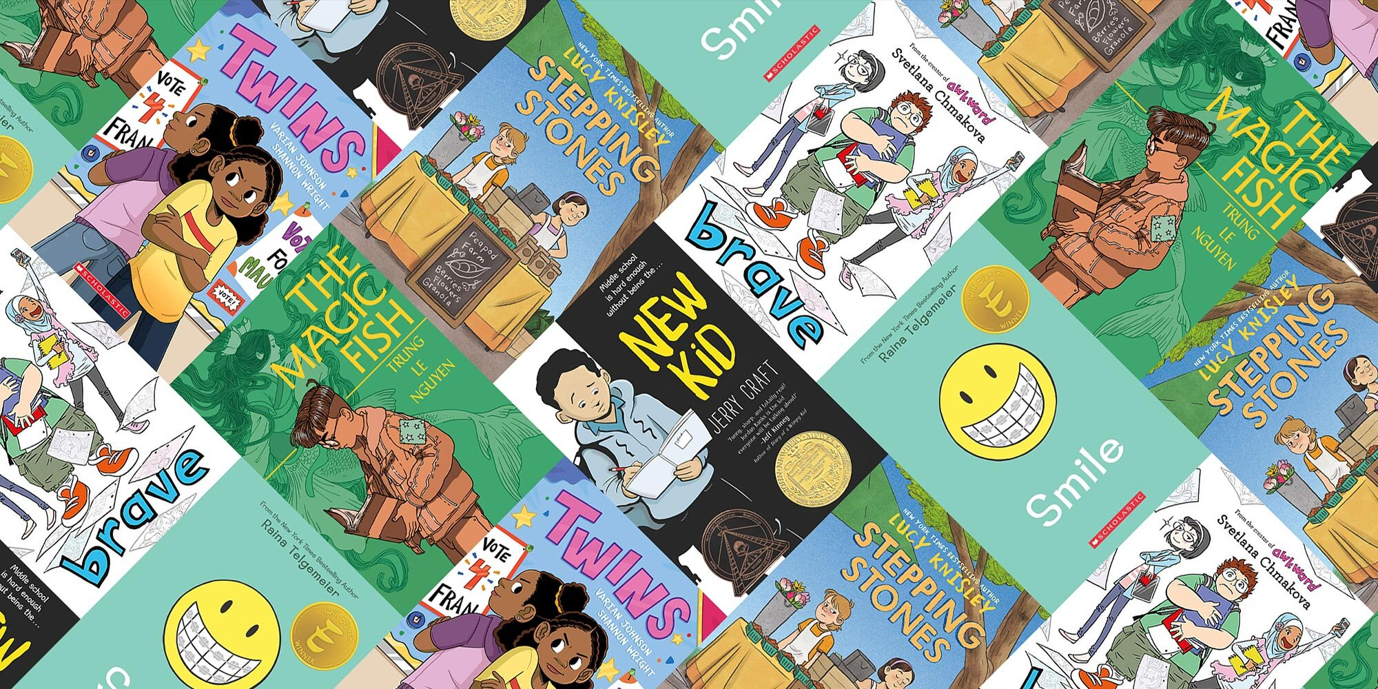 A guide to great slice-of-life graphic novels for young readers