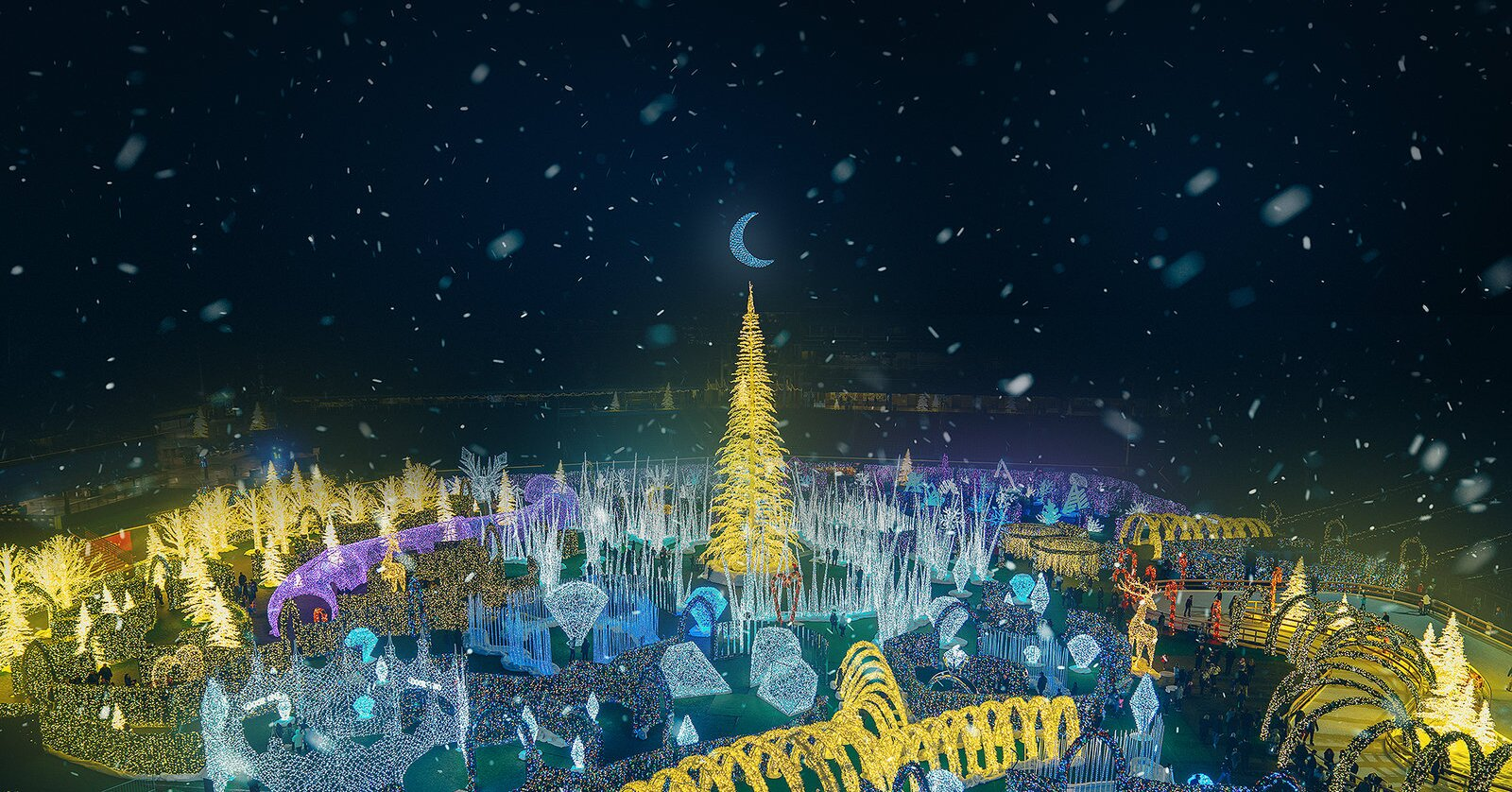 The World's Largest Christmas Light Maze Is Coming to Washington D.C. for the First Time