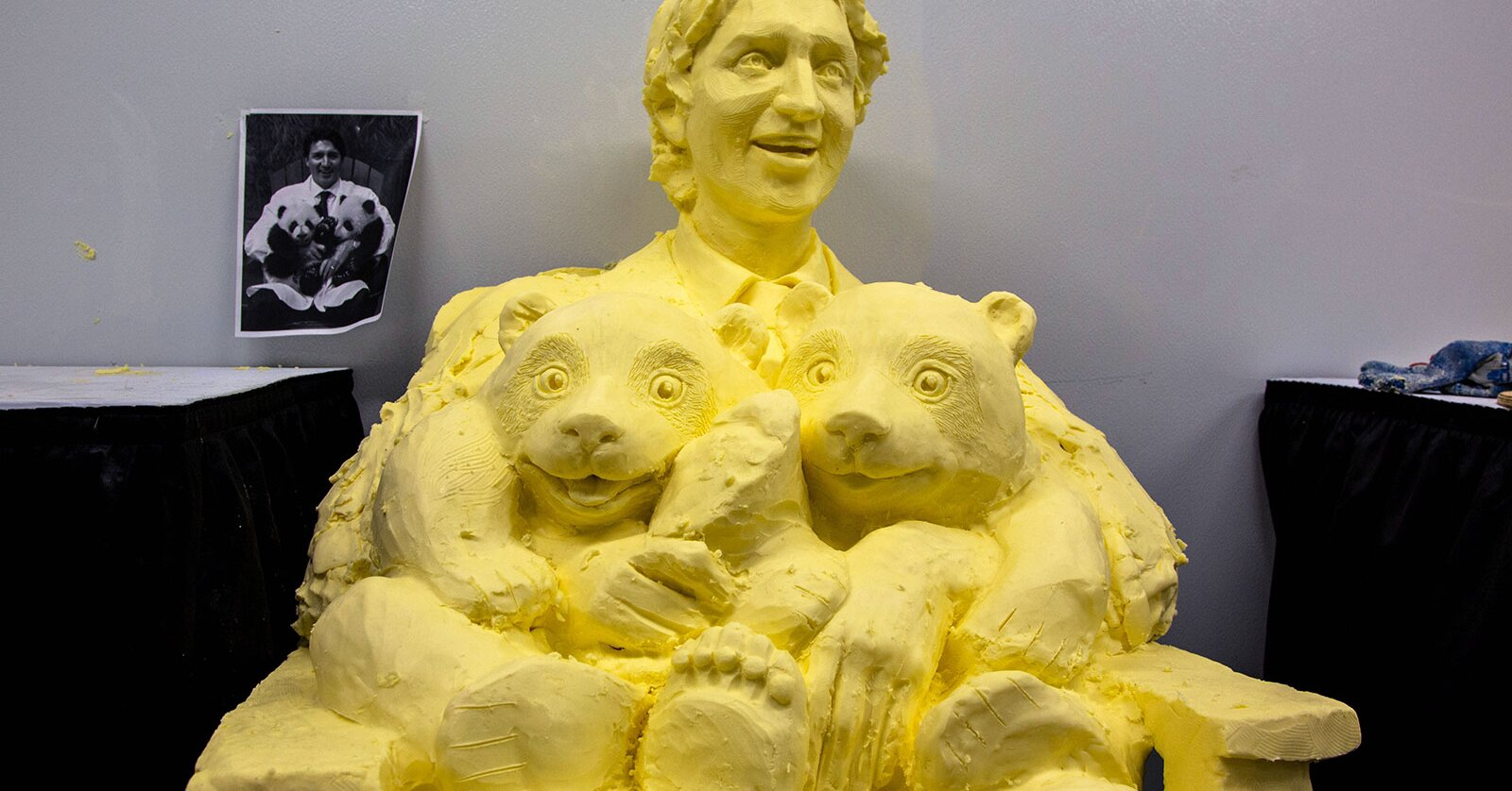 Some Culinary Genius Made a Justin Trudeau Butter Sculpture | Food ...