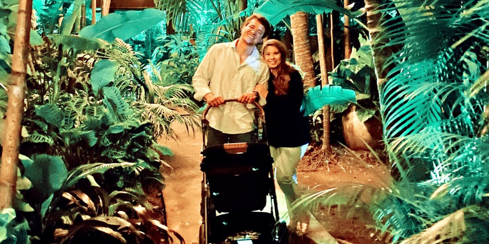 Bindi Irwin and Chandler Powell Enjoy Their 'First Family Dinner Adventure' with Baby Grace.jpg