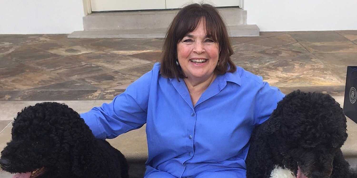 Ina Garten Pays Tribute to the Obamas' Late Dog Bo with Throwback Photo from the White House.jpg