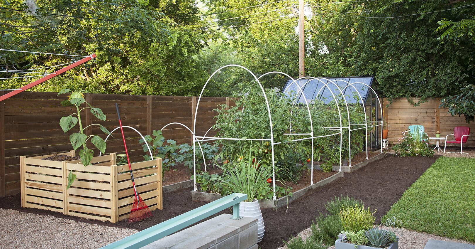 Make This Easy PVC Pipe Garden Trellis to Grow Perfect Produce