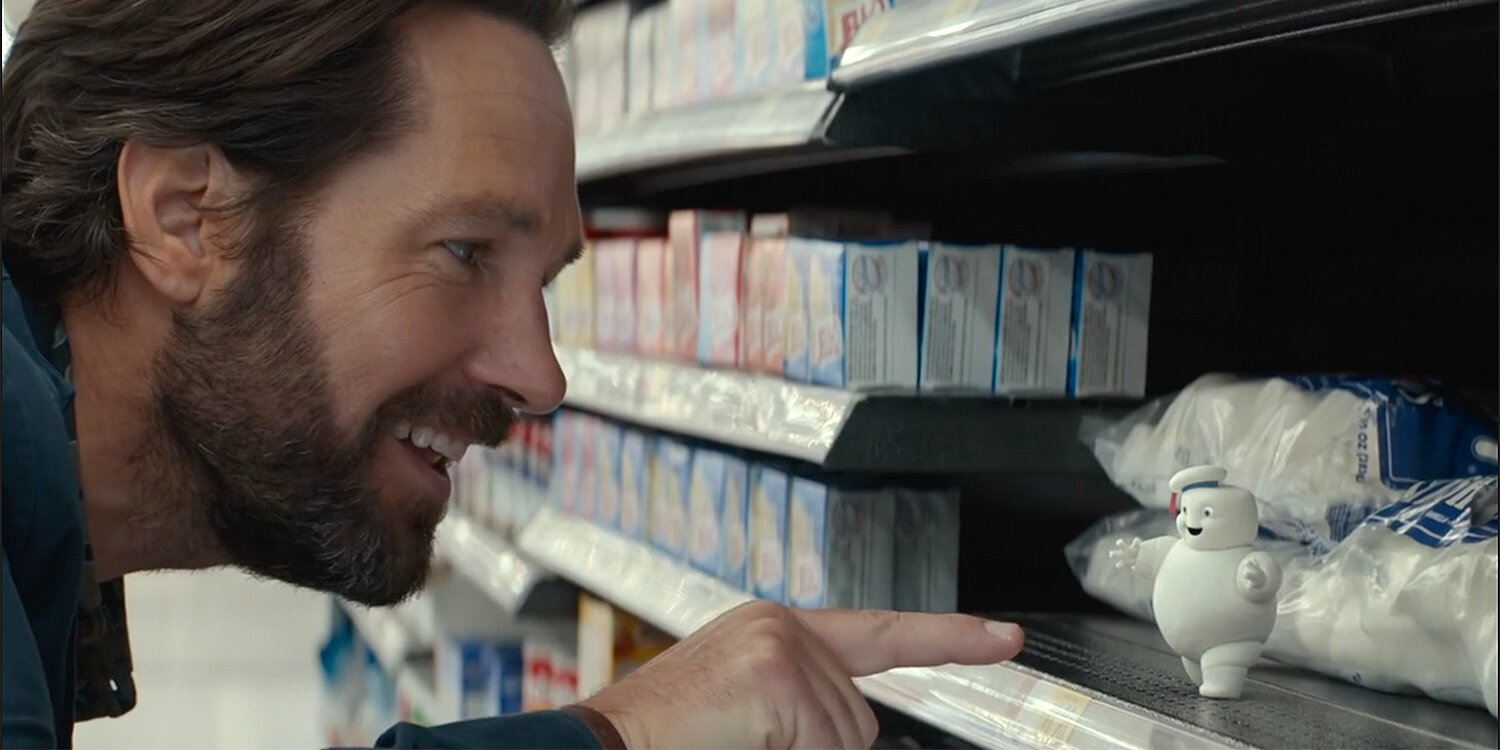 Paul Rudd Is Tormented by Adorable (and Sinister!) Marshmallow Ghosts in Ghostbusters: Afterlife Clip.jpg