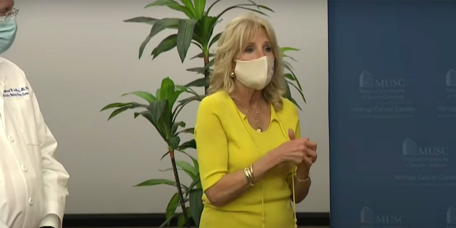 Jill Biden Marks Breast Cancer Awareness Month with a Personal Story: 'I Had to Do Something' - Yahoo Entertainment : The first lady is encouraging women to undergo routine health screenings in honor of Breast Cancer Awareness Month  | Tranquility 國際社群