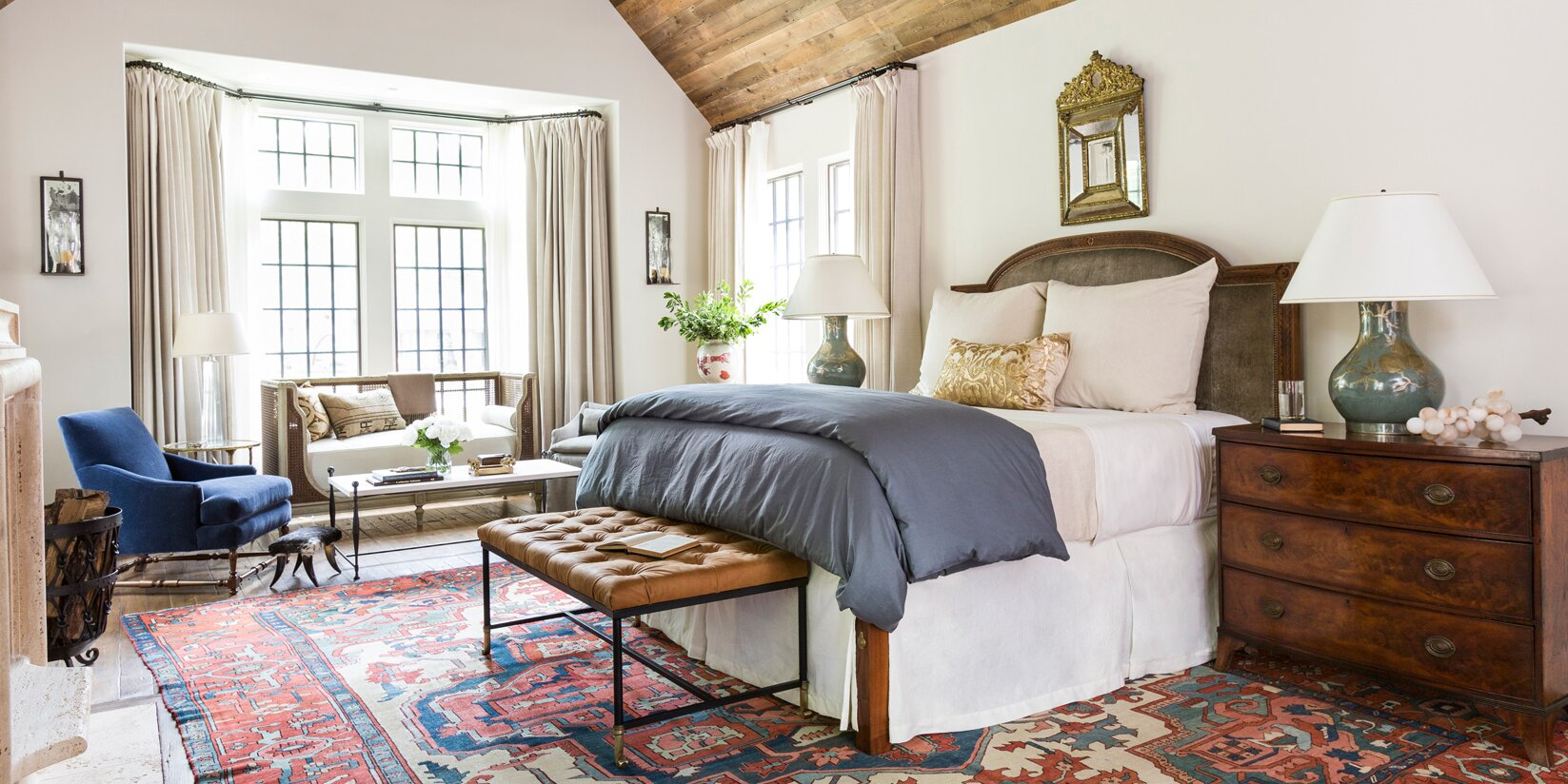 Where Should You Place an Area Rug in Your Bedroom?