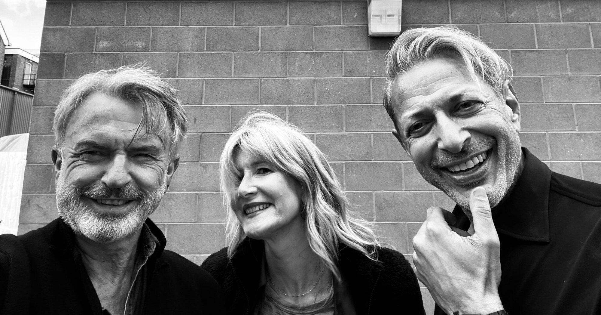 'Jurassic Park' trio reunite as 'Jurassic World: Dominion' resumes filming after COVID delays