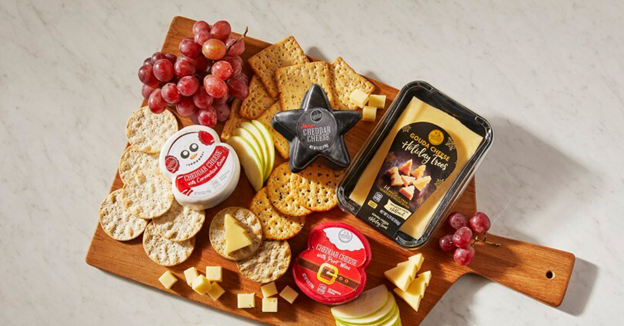 Aldi Has the Perfect Cheeses for Your Christmas Charcuterie Board