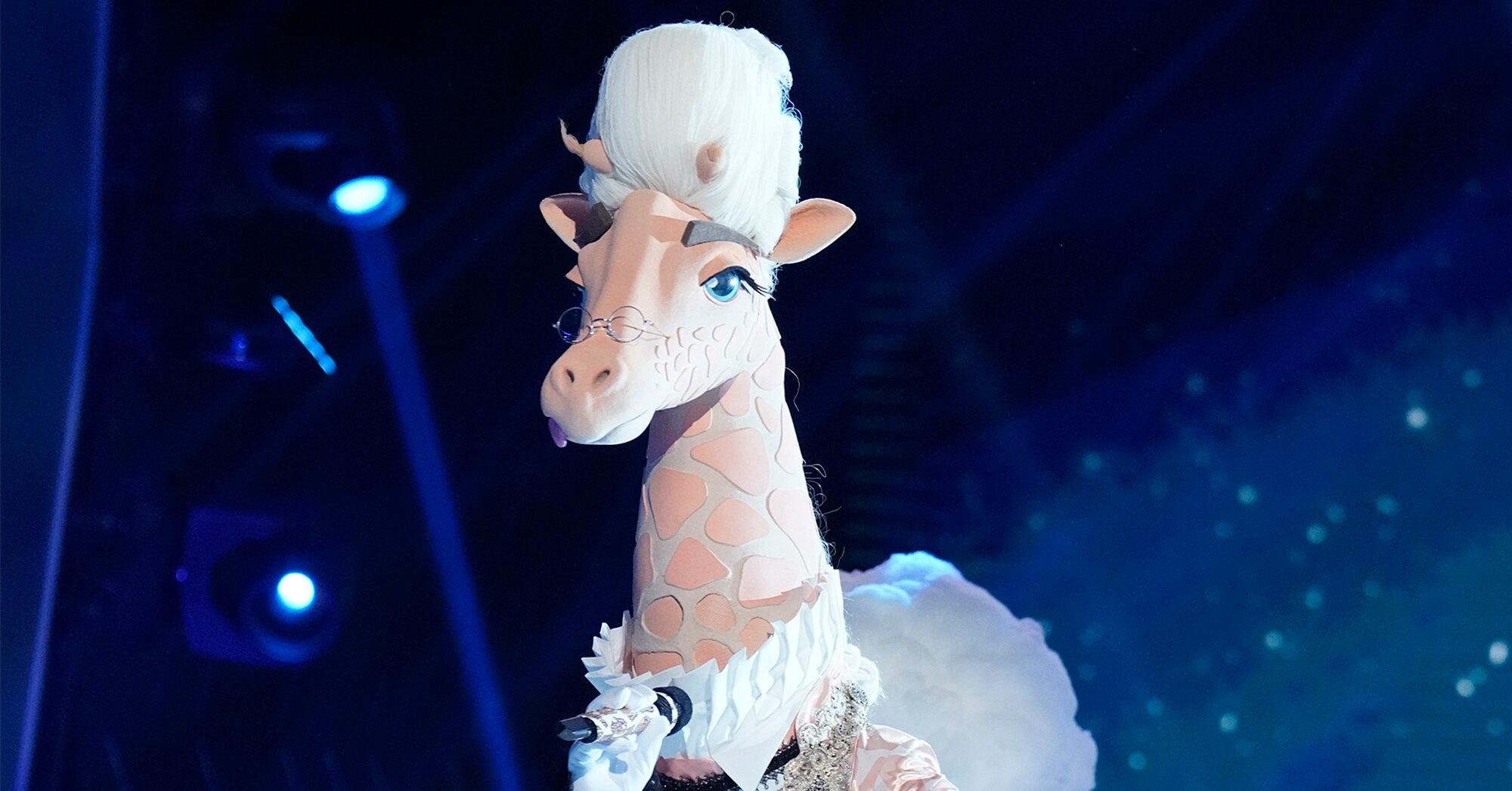 Masked Singer recap: Giraffe eliminated revealed as '90s TV star – Entertainment Weekly