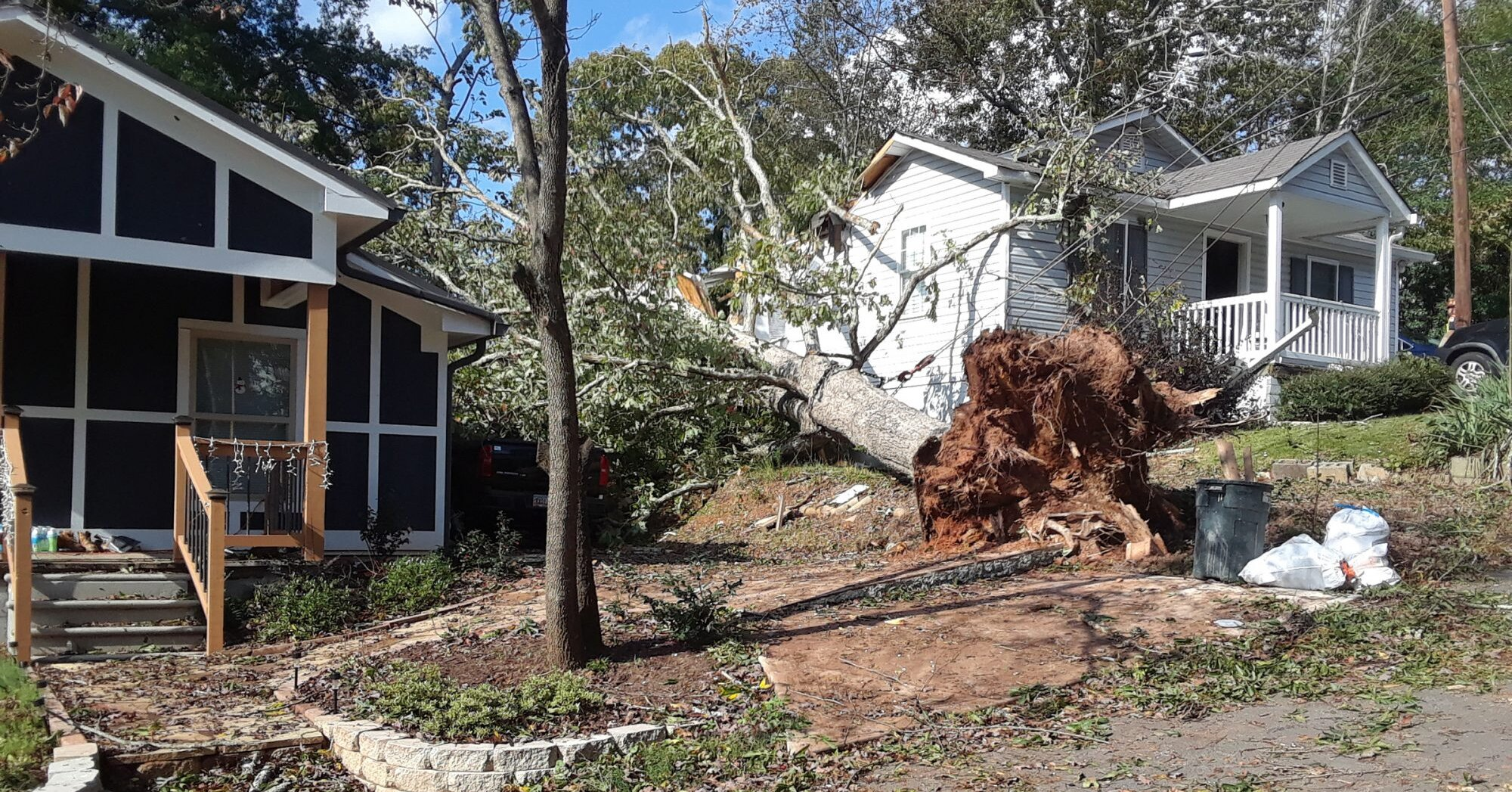 Couple in Their 20s Killed After Tree Falls on House in Georgia While They're Sleeping