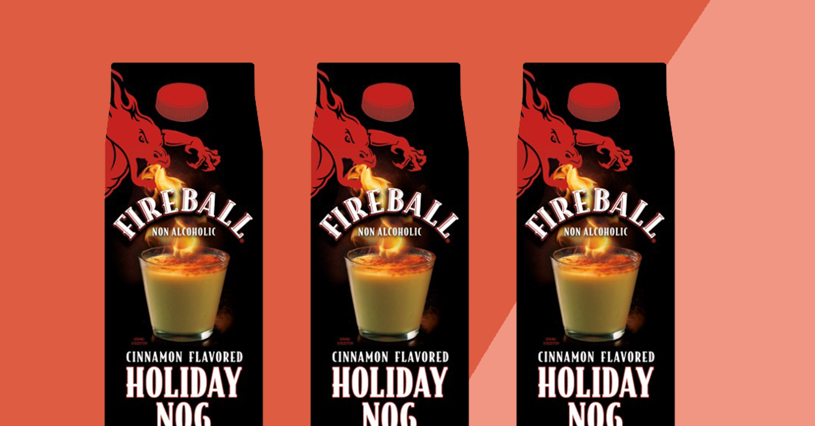 Fireball-Flavored Eggnog Is the Holiday Gift We Didn't Know We Wanted