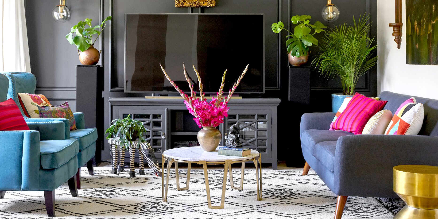 How to Decorate with Jewel Tones for a Bold, Colorful Home