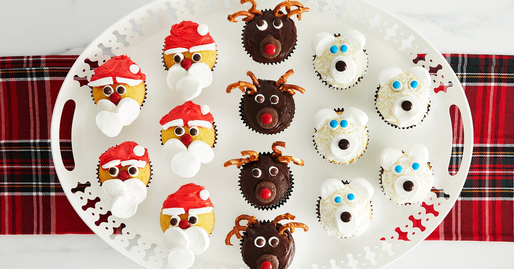 These Three Easy-to-Make Christmas Cupcakes Are Sure to Be the Hit of the Holidays