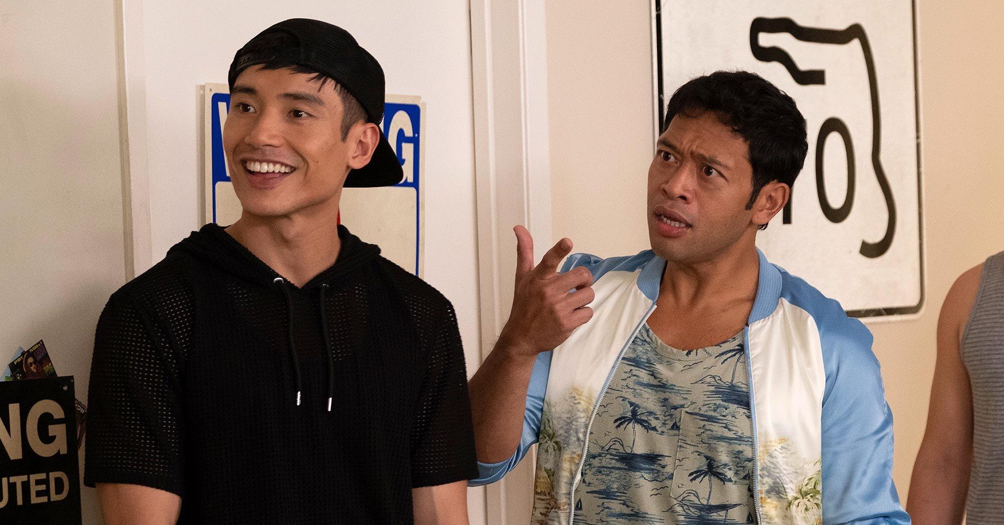 Eugene Cordero explains the origin of Pillboi and Jason's epic 'Good Place' handshake