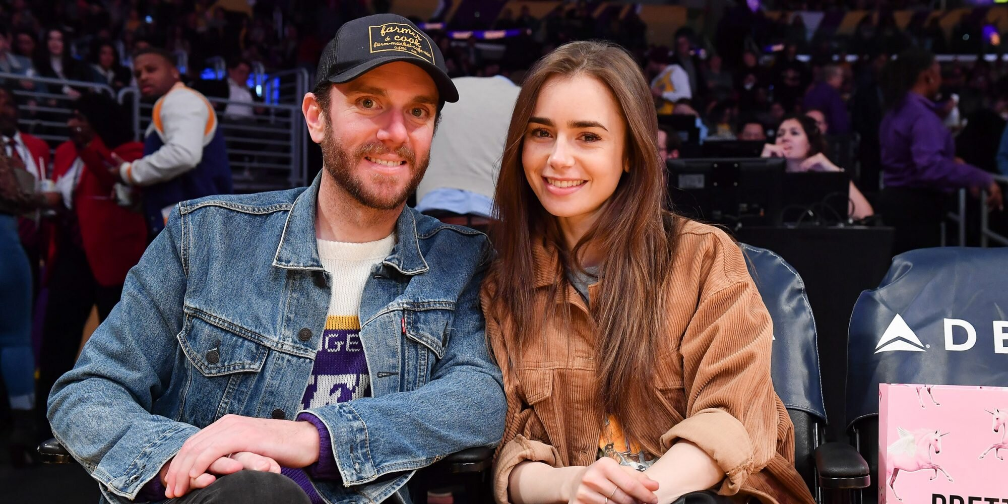 Lily Collins and Charlie McDowell Are Married: 'We Officially Became Each Other's Forever'.jpg