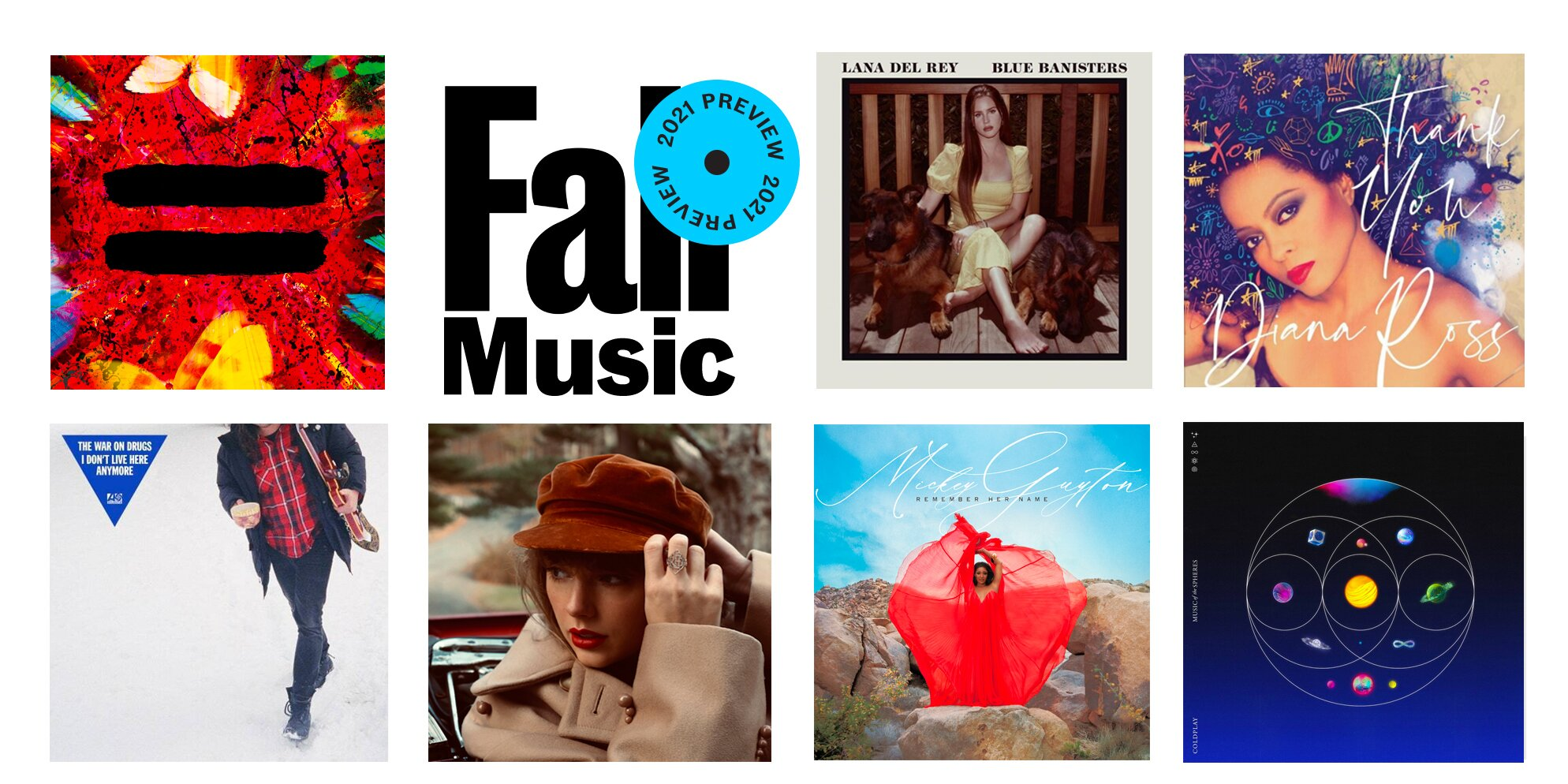 Fall Music Preview 2021: 29 albums to listen to this season