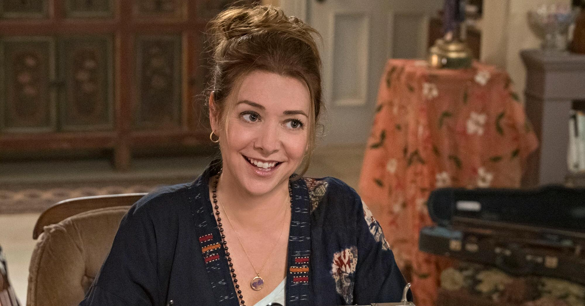Get a first look at Alyson Hannigan's spirited family adventure 'Flora & Ulysses'