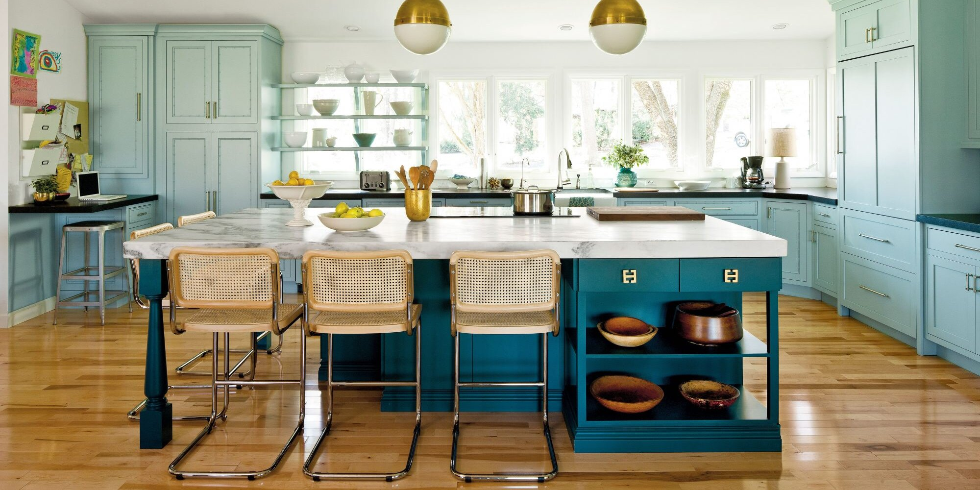 The Best Paint Colors For Kitchen Islands Southern Living