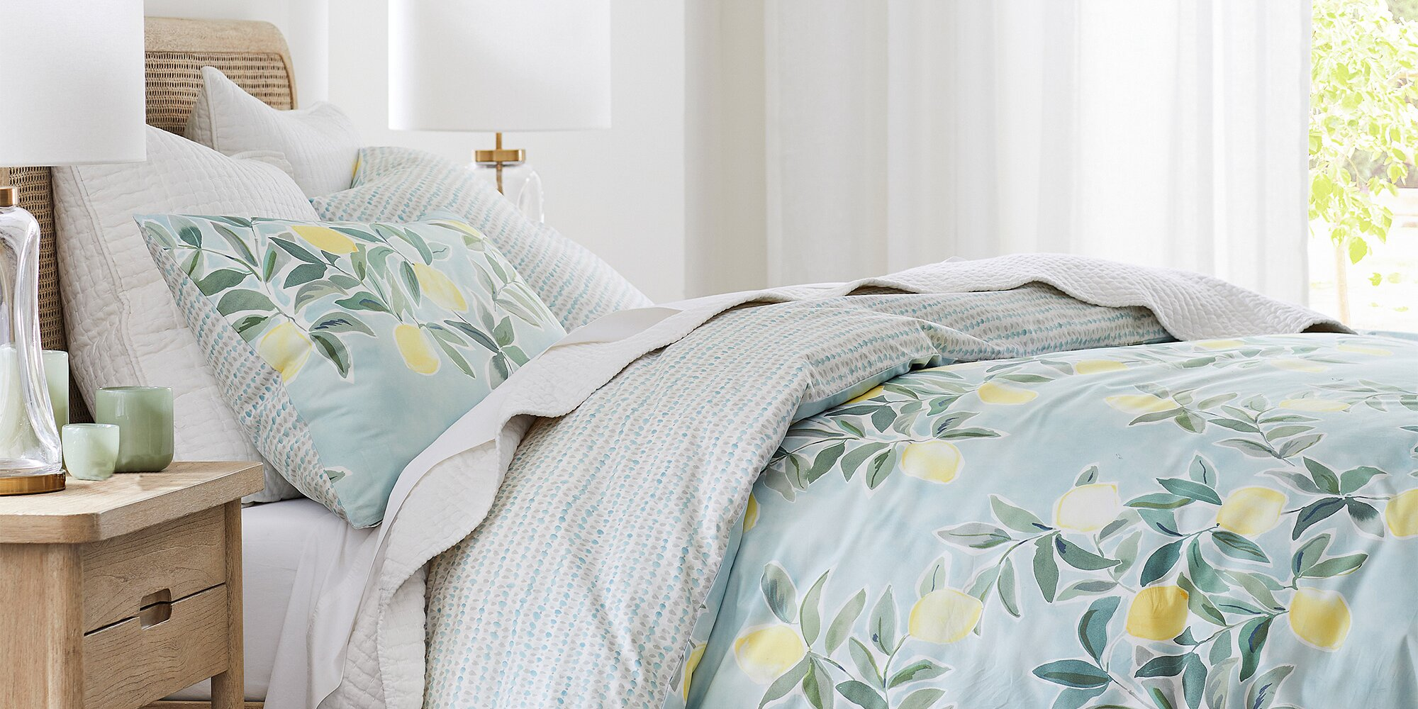 Cheer Up Your Home For Spring With Rebecca Atwood S New Collection At Pottery Barn Real Simple